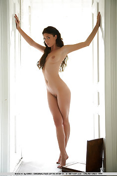 Girl next door is completely naked and not embarrassed