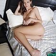 Mirabella bares her tight body and meaty pussy on the bed  - image 2